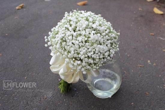Ý nghĩa của hoa cưới hoa baby và lý giải về giá bán