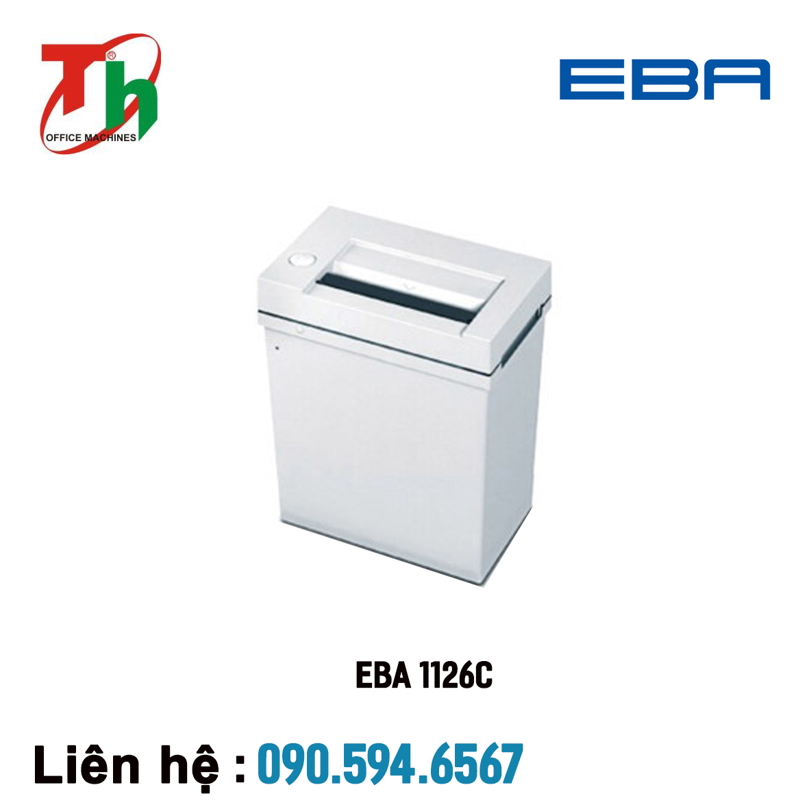 Máy hủy giấy EBA 1126C