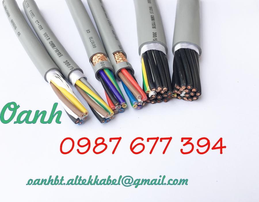 Cáp điều khiển Altek Kabel 2c x 0.5mm2, 2c x 0.75mm2, 2c x 1.0mm2, 2c x 1.5mm2