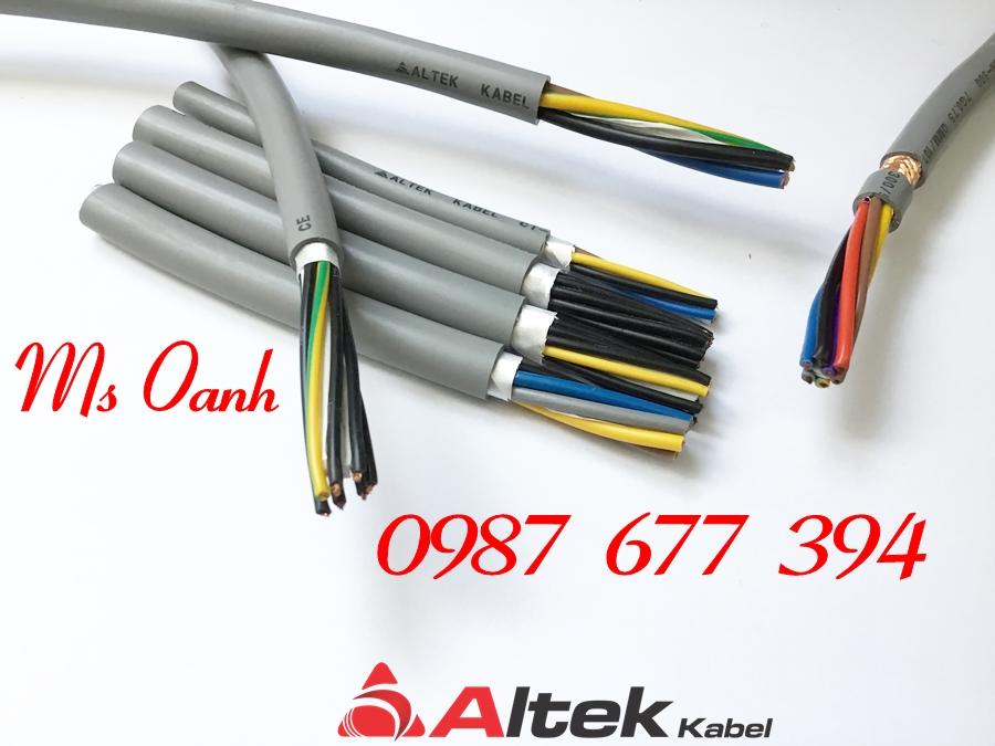 Cáp điều khiển Altek Kabel 2c x 1.5mm2, Cáp điều khiển RVV