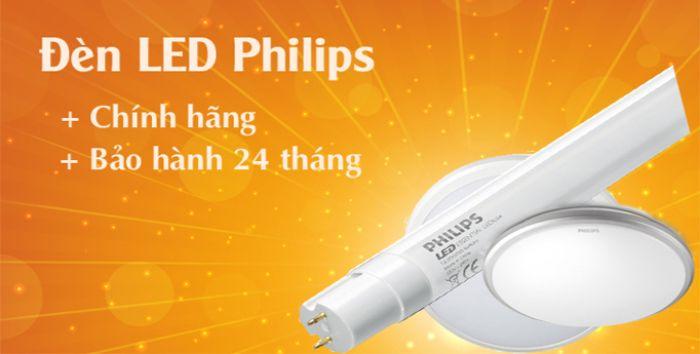 Nơi bán thiết bị chiếu sáng Philips giá tốt
