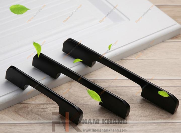Tay cầm tủ màu đen NK170-160D (Màu Đen Mờ)