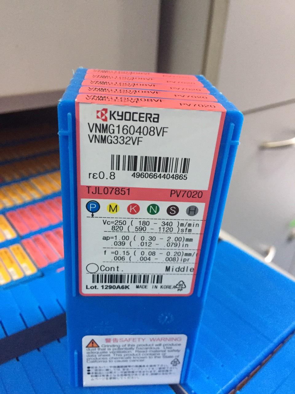 Mua 5 hộp VNMG160408VF (PV7020) tặng 1 cán DVJNR-2525M16X