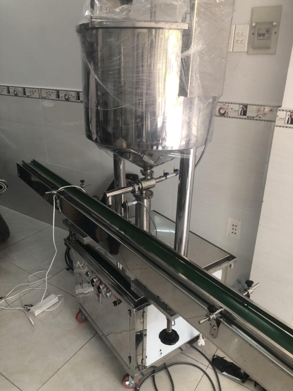 Máy chiết rót dạng sệt – Máy chiết rót gia nhiệt bán tự động