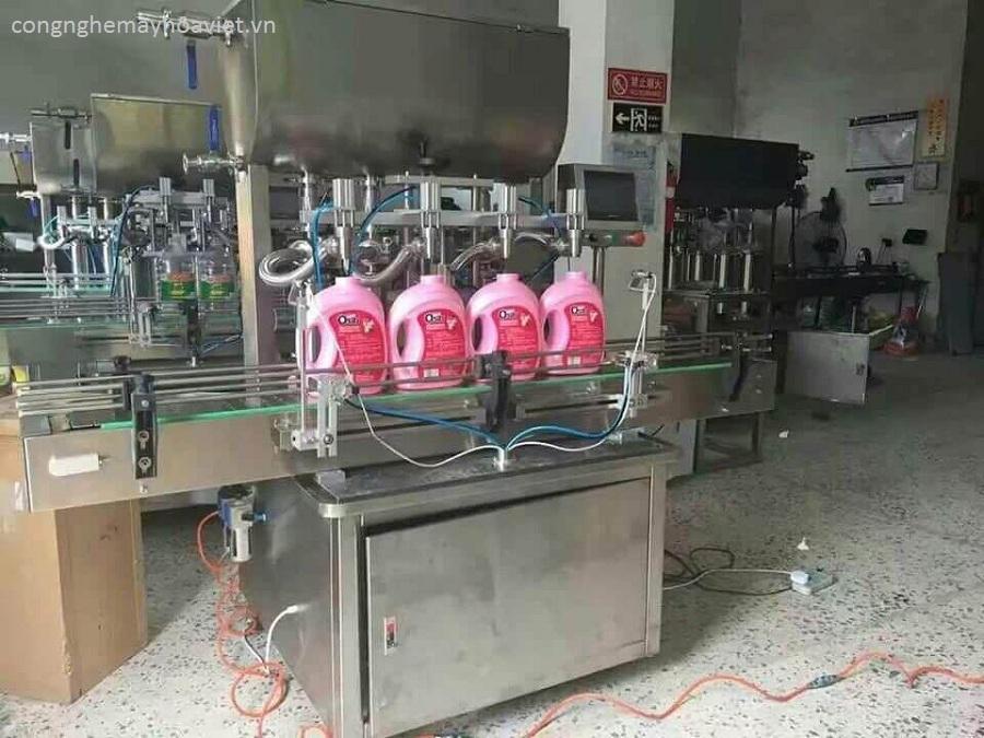 Máy chiết rót tự động hoa việt - đơn vị cung cấp máy công nghiệp hàng đầu việt nam