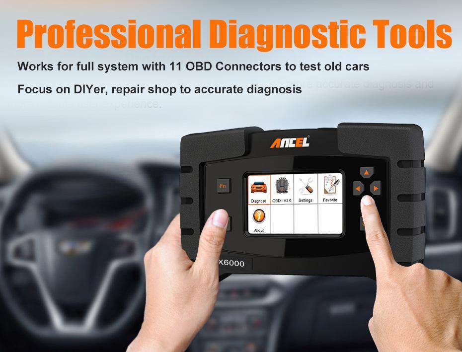 ANCEL FX6000 OBD2 scanner