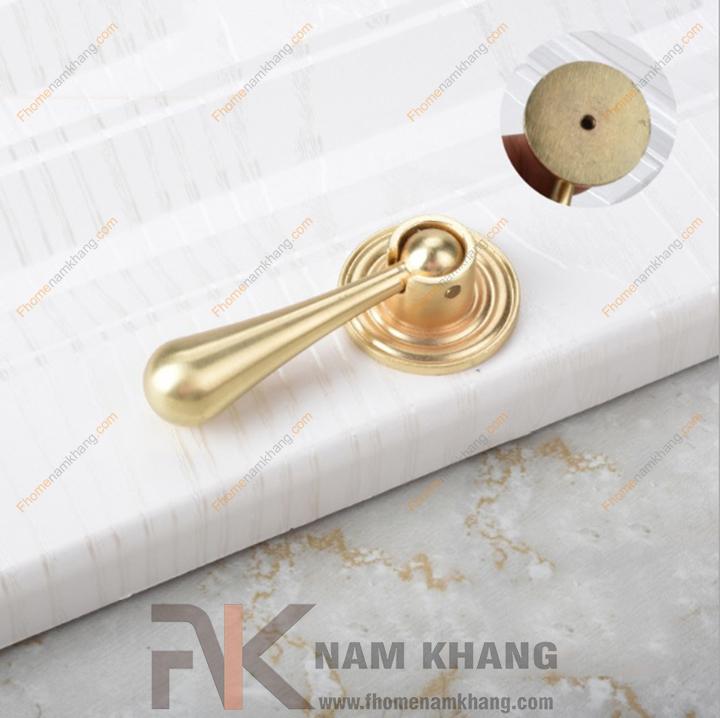 Núm tay nắm tủ dạng thanh tròn NK285-VM (Màu Vàng Mờ)