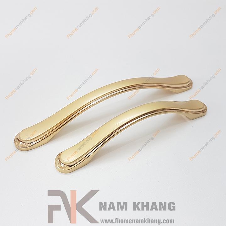 Tay nắm cửa tủ mạ vàng phong cách châu âu NK036 (Màu Vàng)