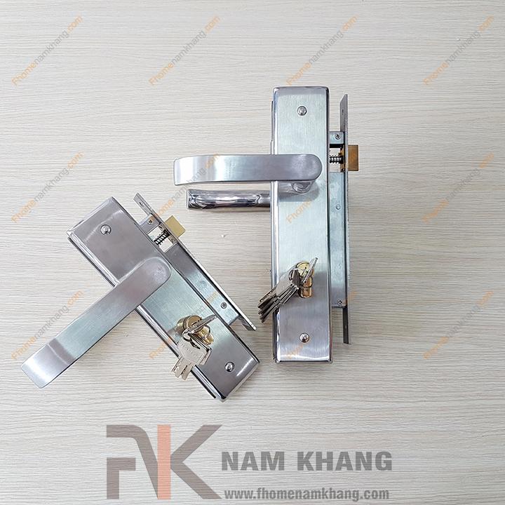 Khóa cửa chính inox NK191L-INOX