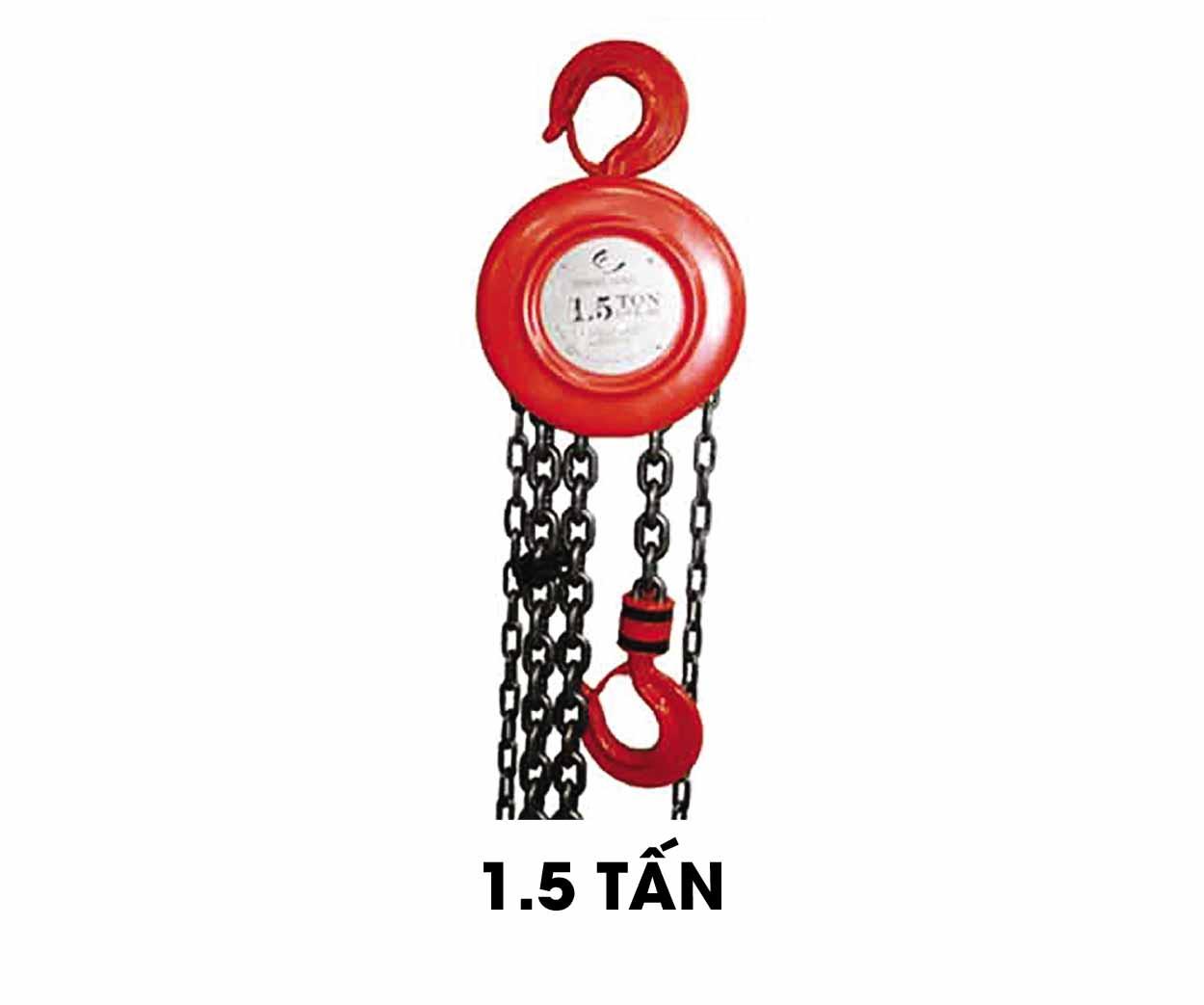 Palang xích tay 1.5 tấn Ssangyong (SY-1.5)