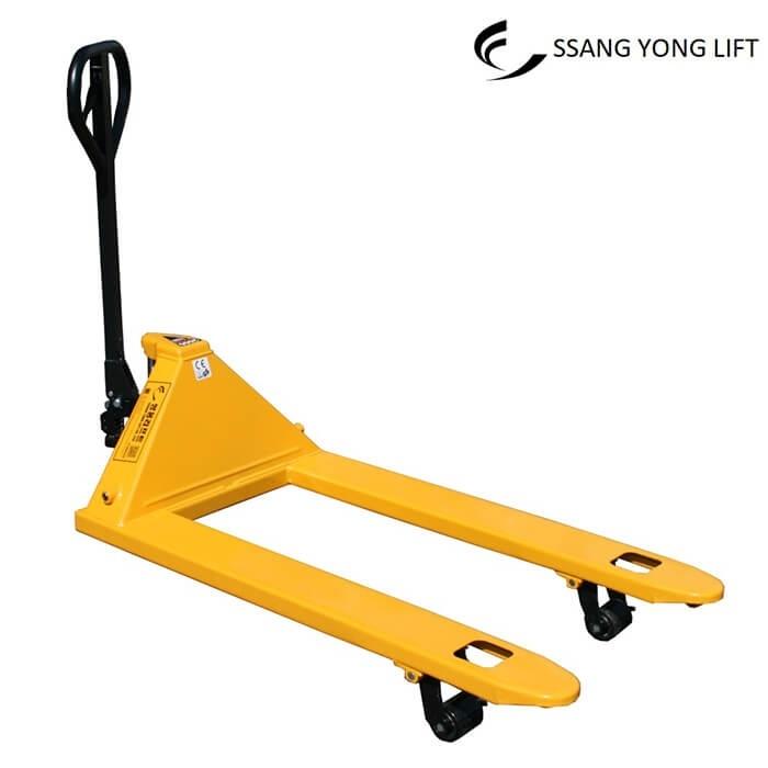 Xe nâng tay 2 tấn càng dài 1m2 thương hiệu SSANGYONG LIFT