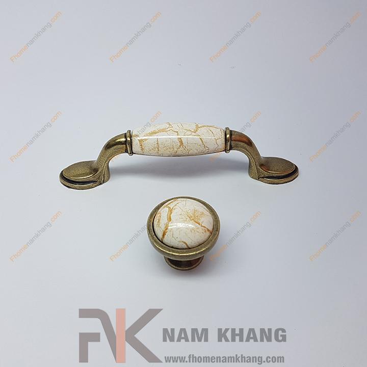Núm nắm tủ mạ đồng cổ NK209 (Màu Đồng Cổ)