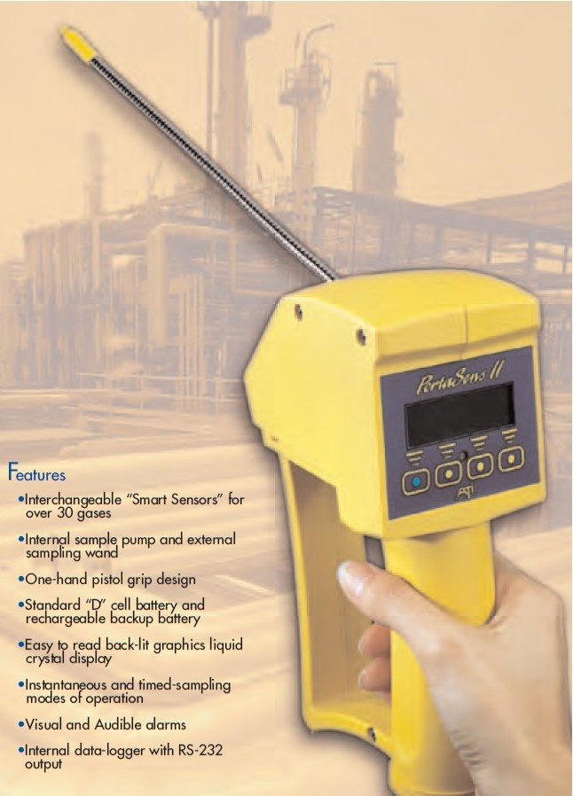 Máy đo khí phosphine, đo khí methyl model C16 PortaSens II