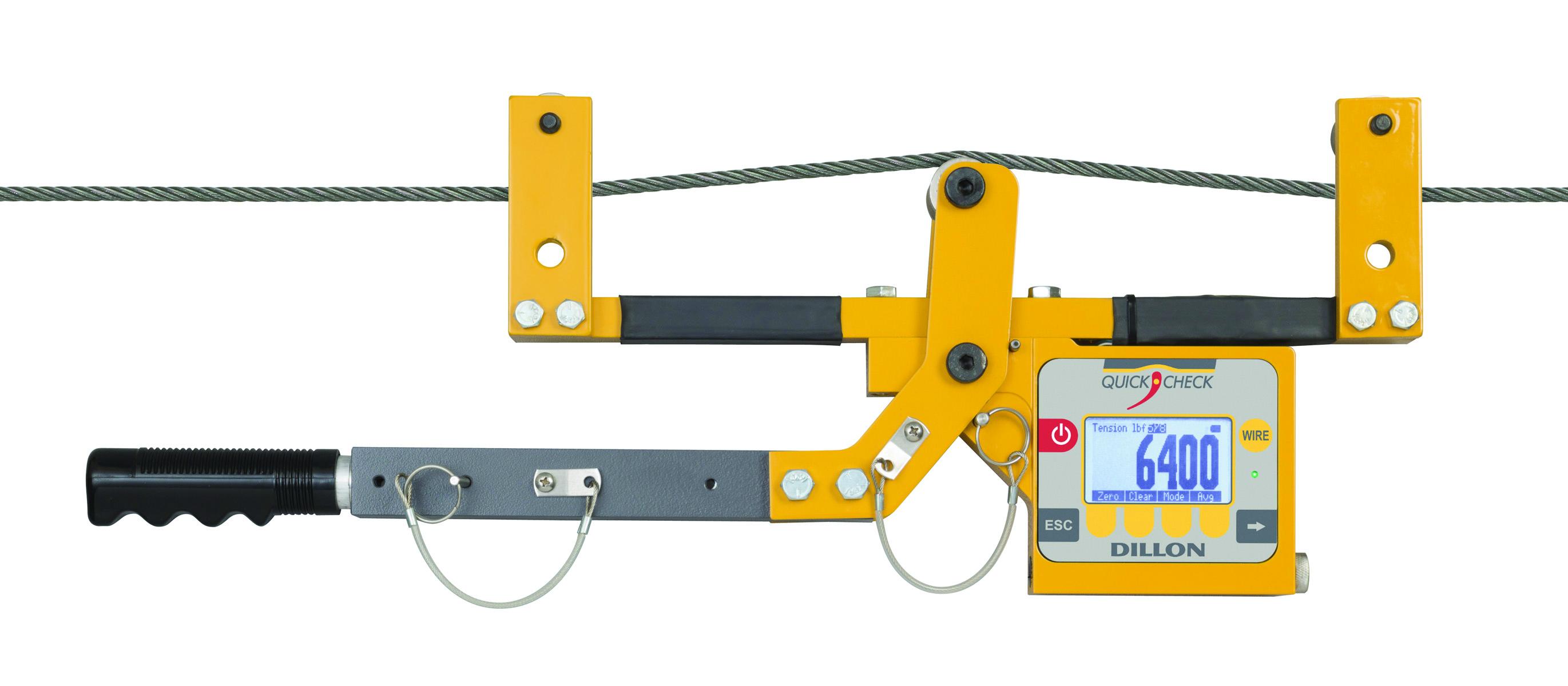 Máy đo lực căng cáp thép trạm BTS model Quick Check