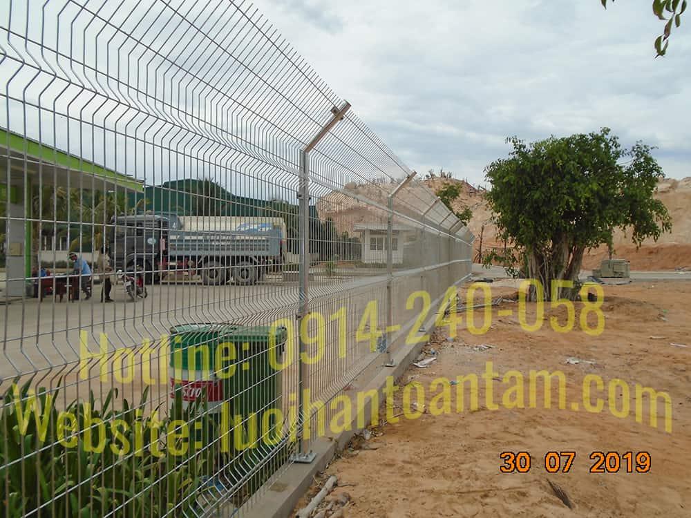 Hàng rào lưới thép - Sản xuất & Thi công trực tiếp