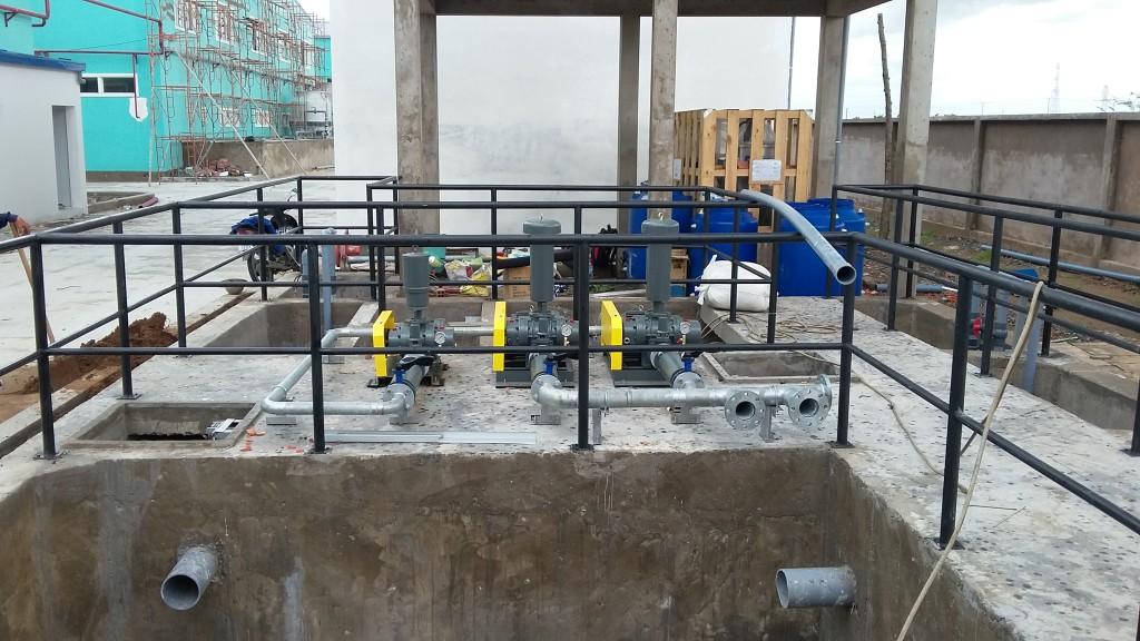 Xử lý nước thải bệnh viện tại Củ Chi