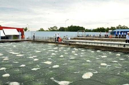 Xử lý nước thải chế biến thủy sản tại Long An