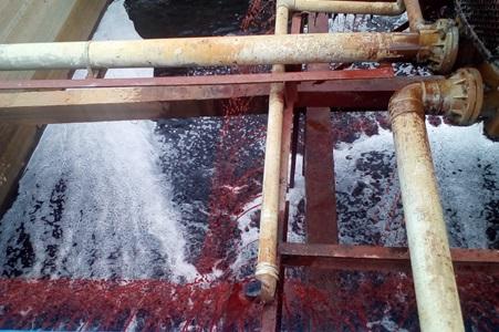 Xử lý nước thải dệt nhuộm tại Củ Chi