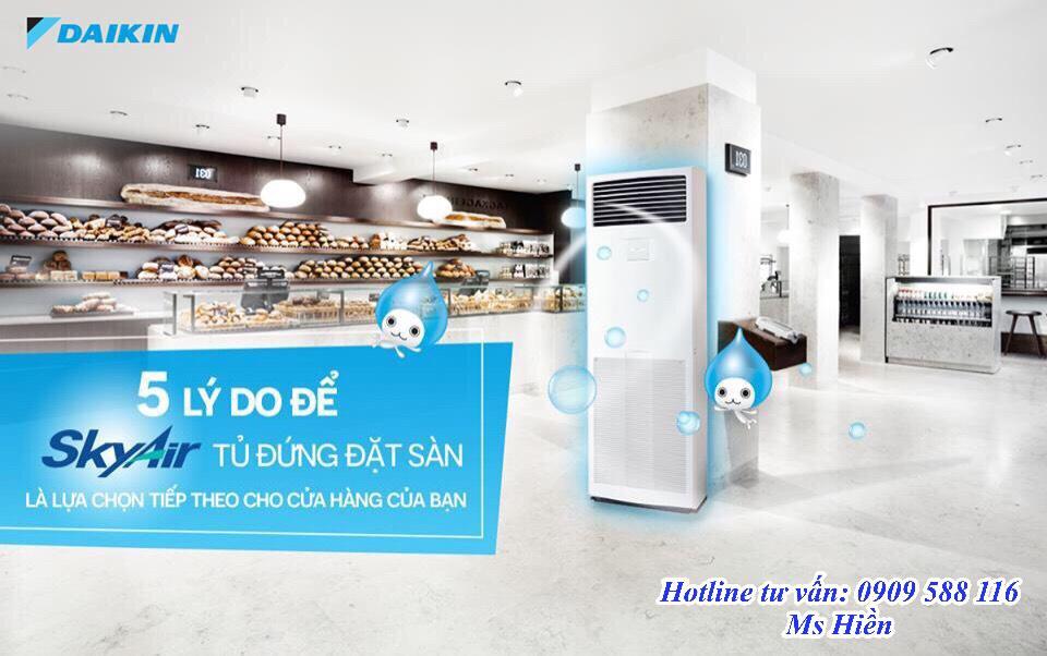 Máy lạnh tủ đứng Daikin, điều hòa tủ đứng Daikin Inverter – Tổng đại lý phân phối sỉ