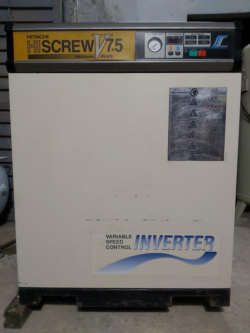 Máy nén khí Hitachi 10hp inverter