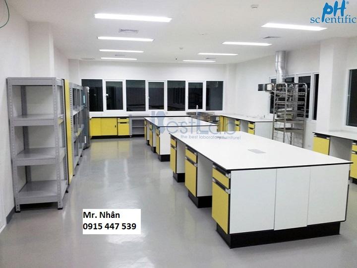 Nội thất phòng thí nghiệm chuyên nghiệp - Phòng thí nghiệm đạt tiêu chuẩn 17025