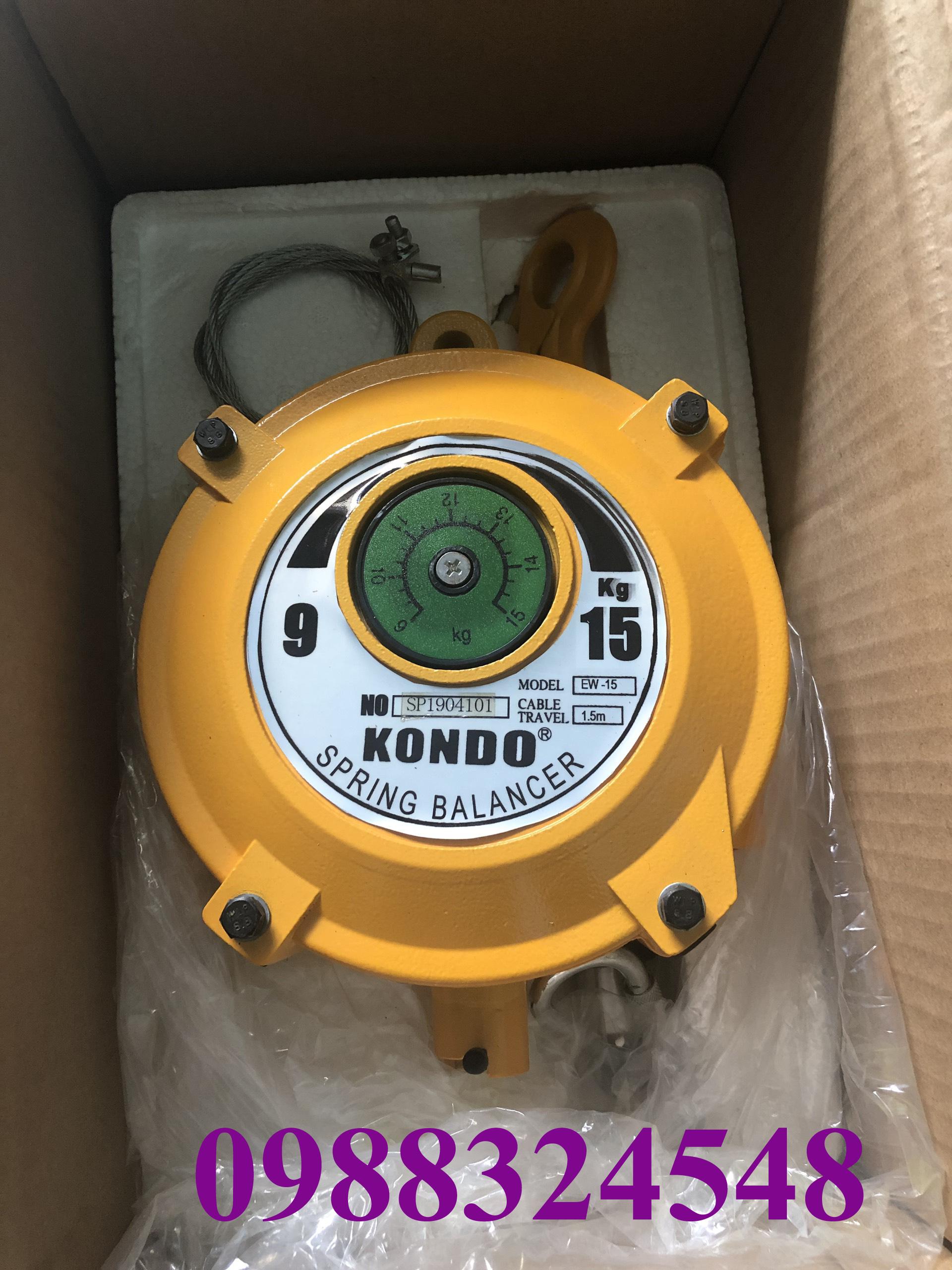 Pa lăng cân bằng Kondo EW-15, tải trọng: 9-15kg