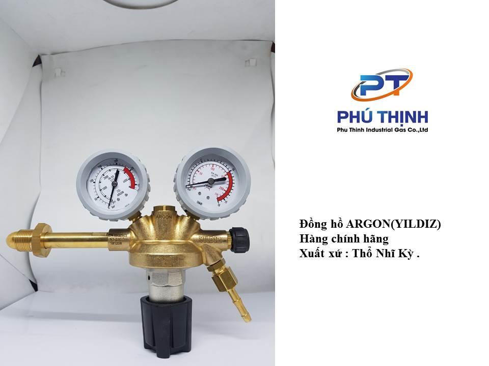 Đồng hồ nito van giảm áp điều áp nito