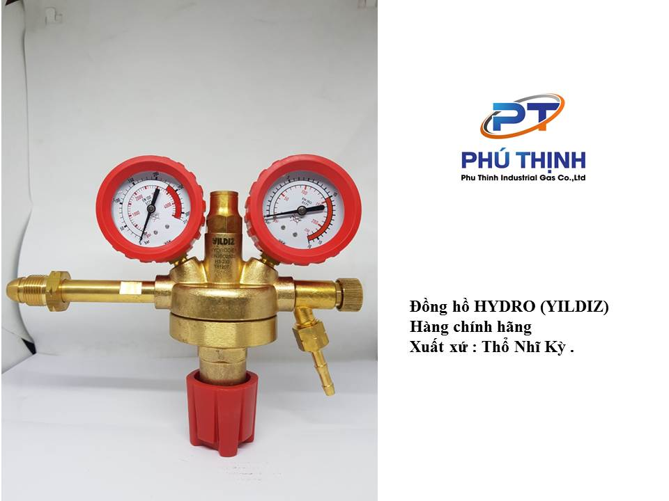Hướng dẫn sử dụng van điều áp giảm áp đồng hồ nito