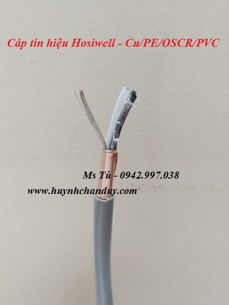 9216 - Cáp tín hiệu 2x16AWG - Cu/PE/OSCR/PVC 2x16AWG
