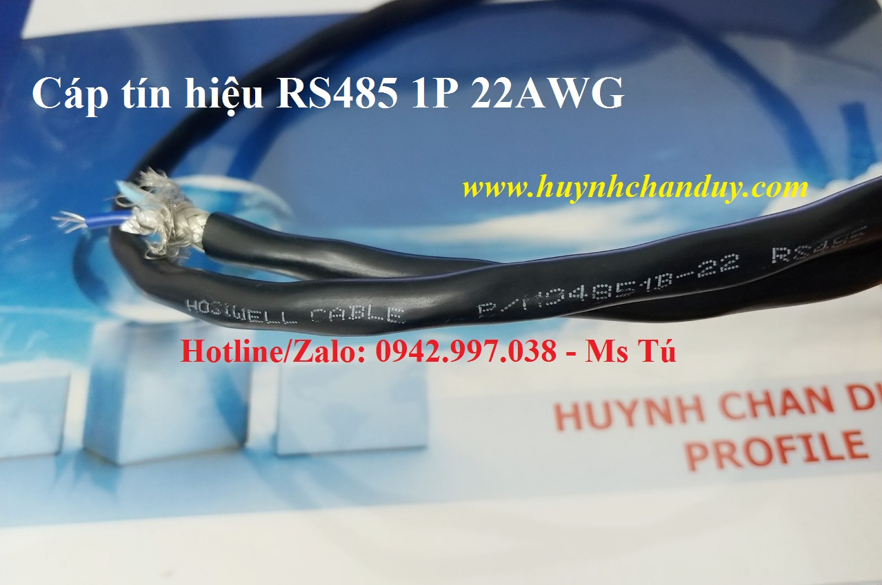 94851B-22 - Cáp tín hiệu truyền thông công nghiệp RS485 1P 22AWG