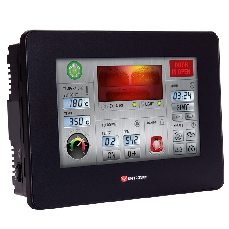 UniStream 7″ Modular - Bộ lập trình PLC tích hợp Màn hình HMI 7 inch