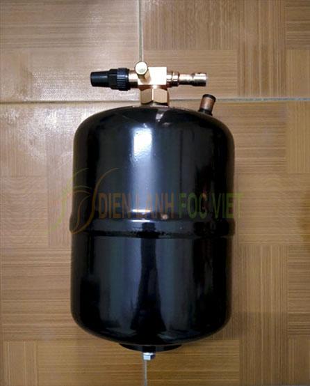 Bình chứa cao áp trong hệ thống lạnh