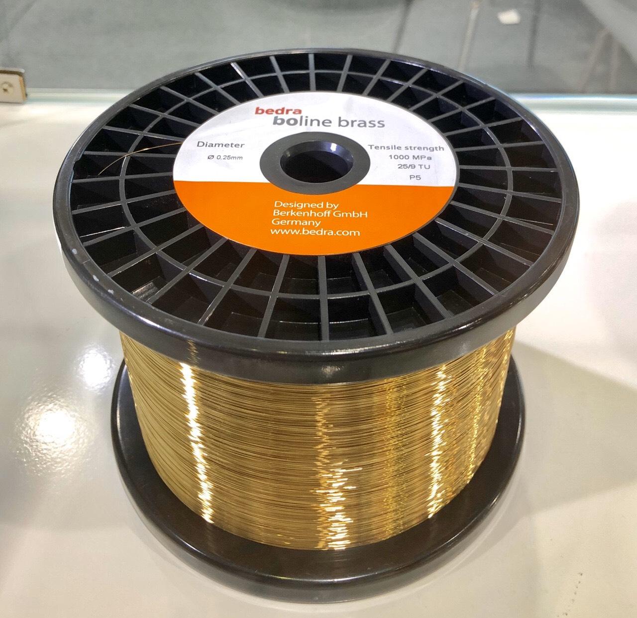 Dây đồng EDM Bedra cho máy cắt dây tia điện
