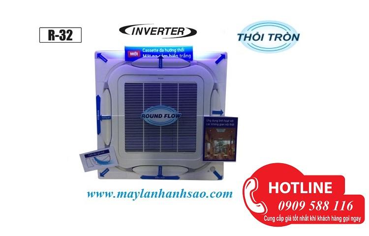 Thợ thi công máy lạnh âm trần Daikin công suất 2 Ngựa: Phù hợp cho quán café, phòng khách tư gia