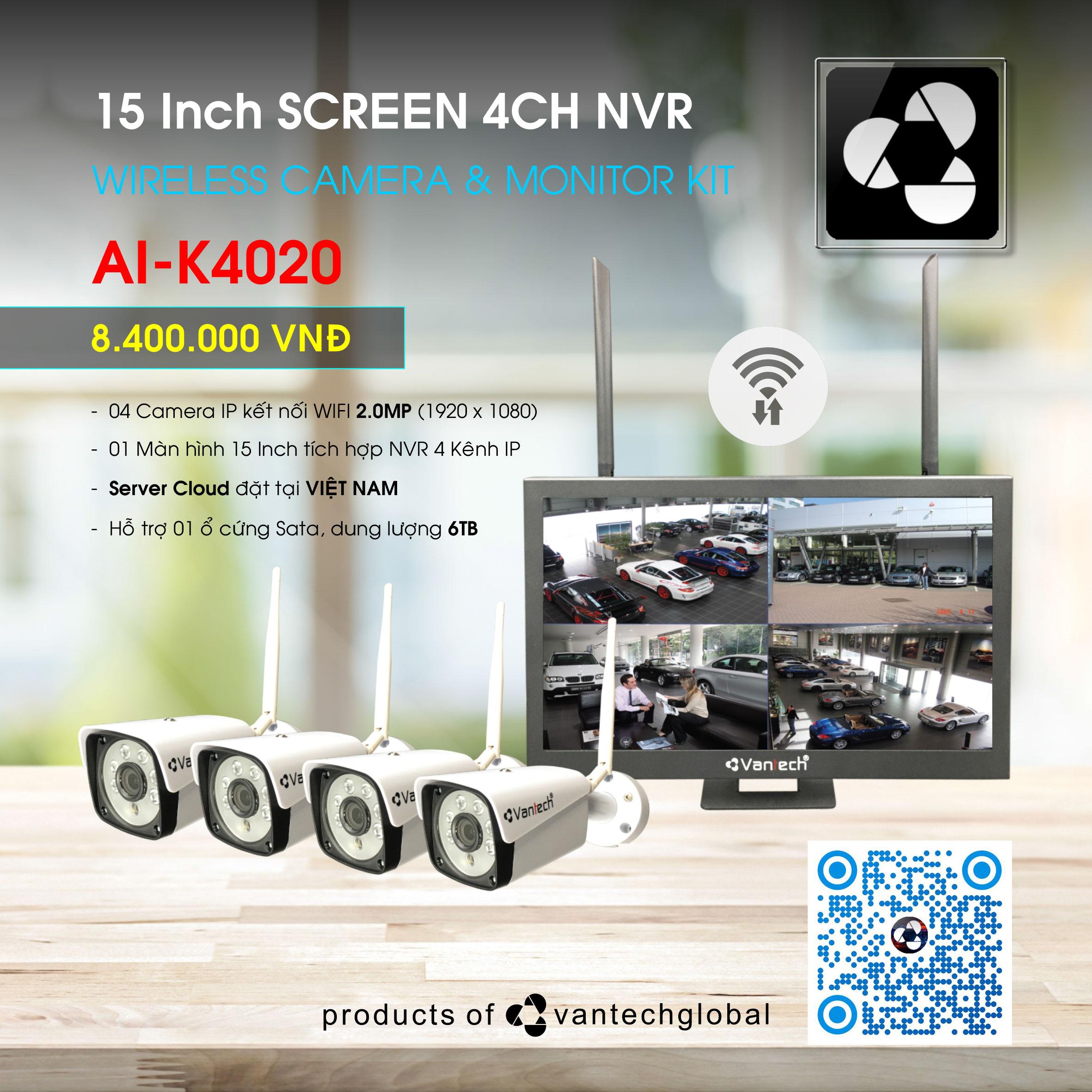 BỘ KIT WIFI AI-K4020