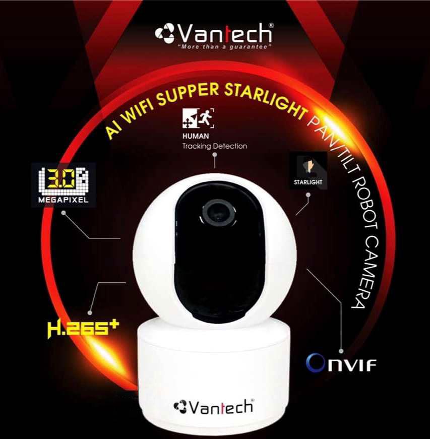 Vantech Camera Onvif Robot AI-V2010B
