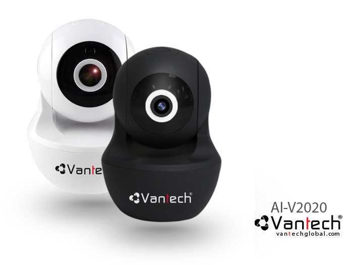 Vantech Camera Wifi Robot Pan/Tilt Starlight 2.0MP AI-V2020