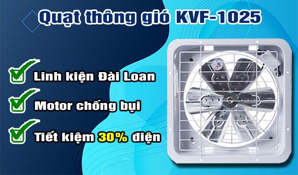 Quạt thông gió KVF-1025 - Chính hãng - quatdienchinhhang