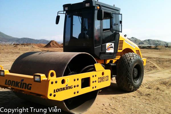 Xe Lu Rung 10 tấn Lonking LG510B