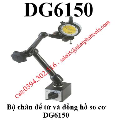 Bộ chân đế từ và đồng hồ so cơ DG6150 - DG6150 NOGA.