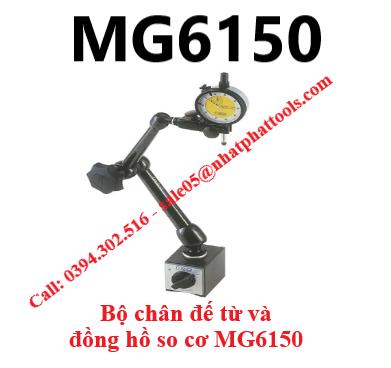 Bộ chân đế từ và đồng hồ so cơ MG6150 - MG6150 NOGA