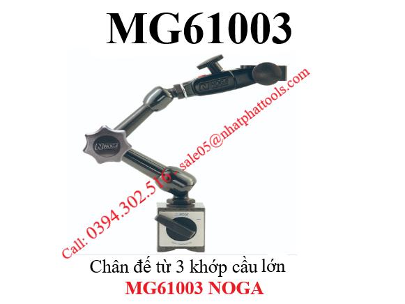 Chân đế từ 3 khớp cầu MG61003 - MG61003 NOGA