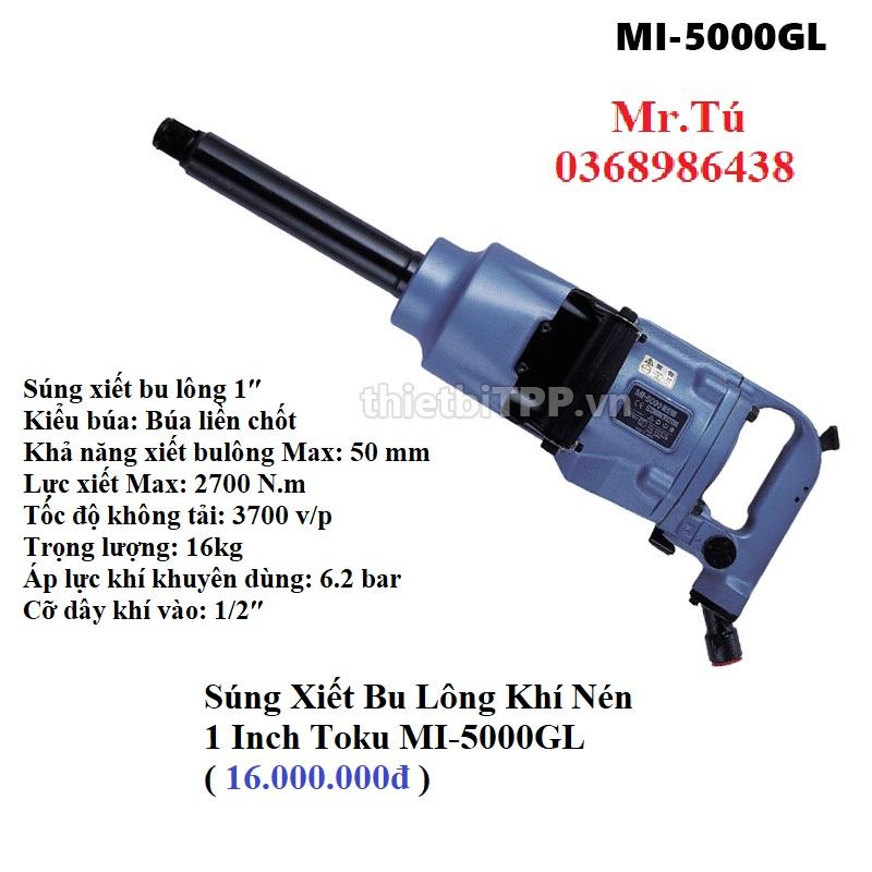 Súng Xiết Bu Lông 1 Inch Toku MI-5000GL