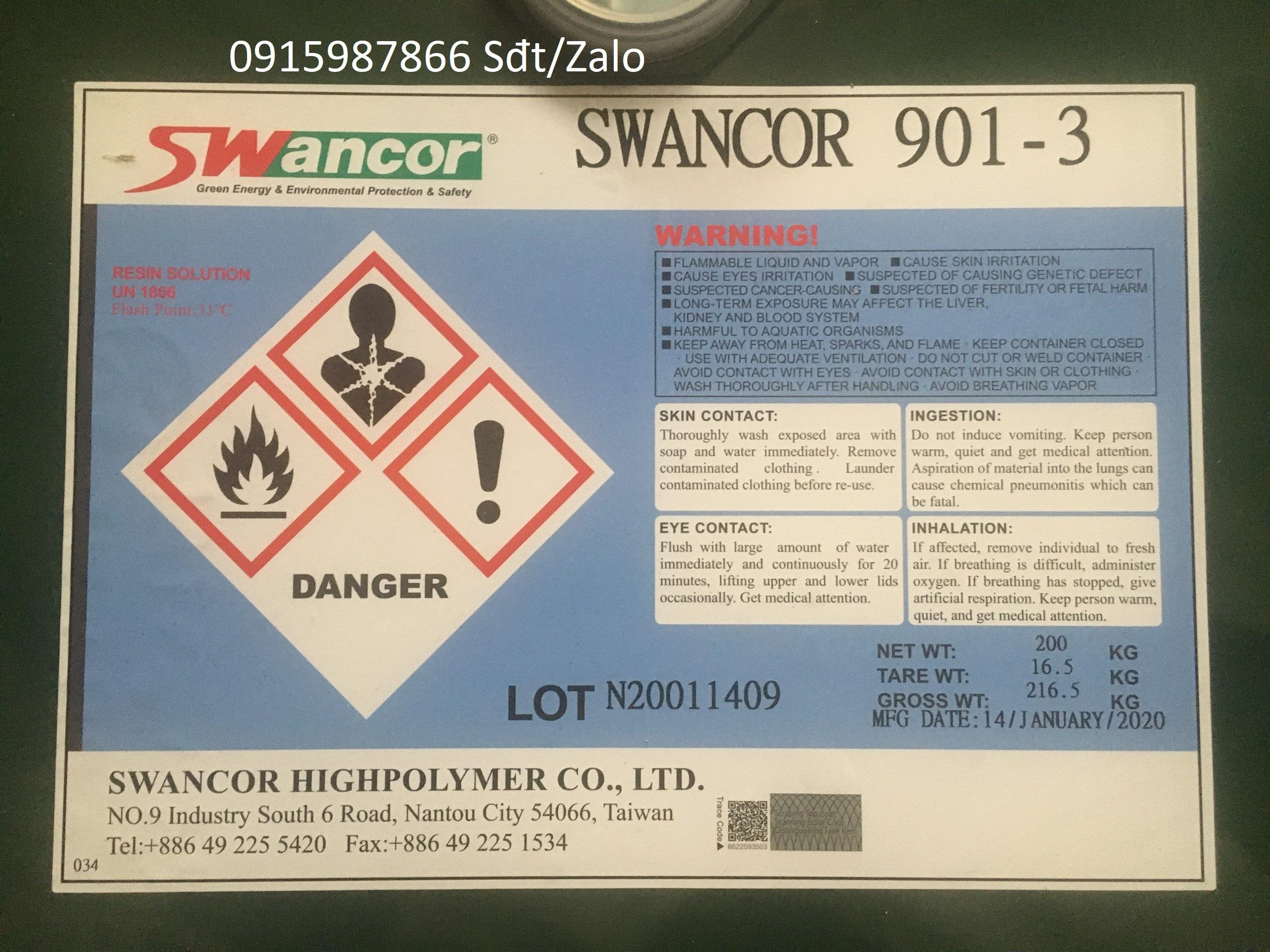 Nhựa Swancor 901-3