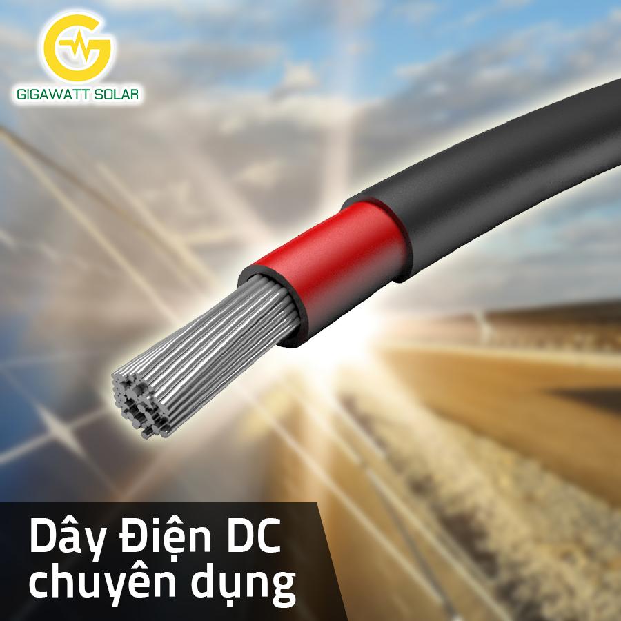 Dây cáp điện DC chuyên dụng cho Điện mặt trời