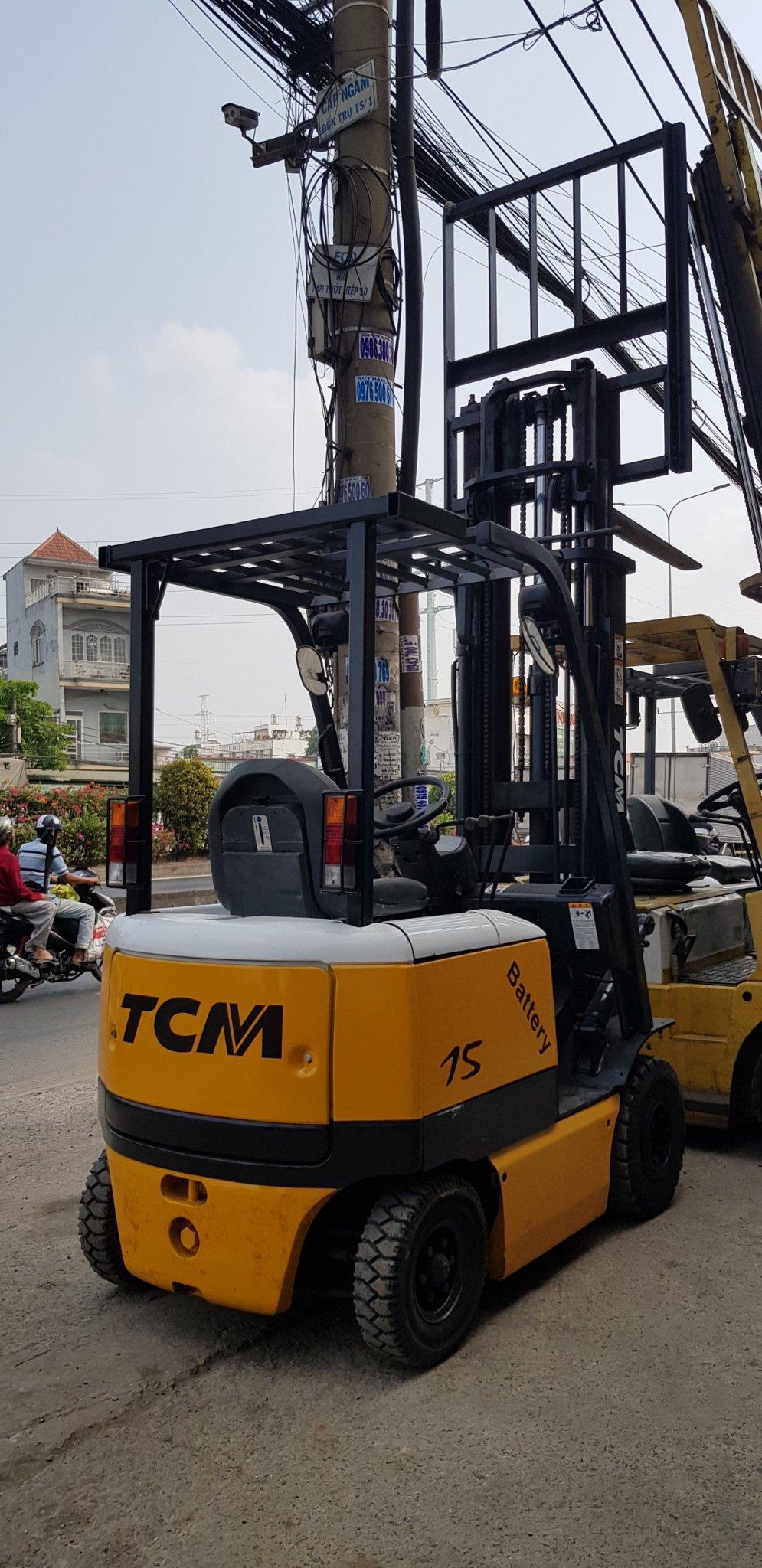 xe nâng điện FB15-6 TCM 0969735088