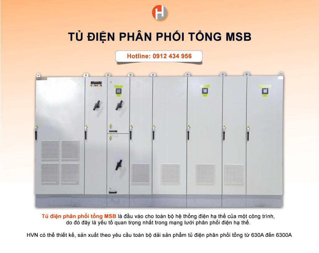 Tủ điện phân phối MSB