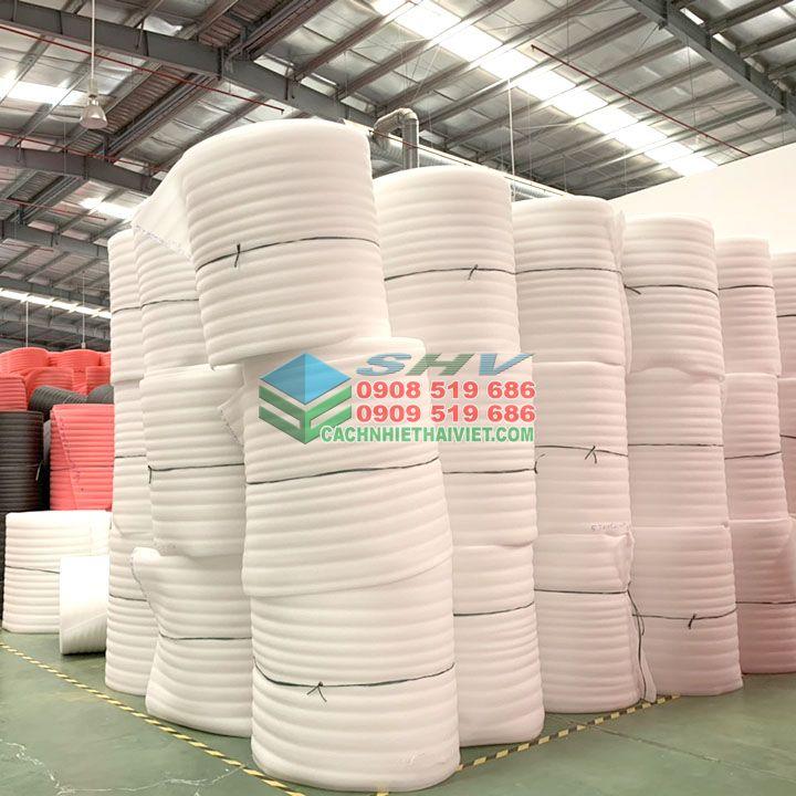 Mút xốp pe foam dày 10mm là loại vật liệu đóng gói hàng hóa hiệu quả
