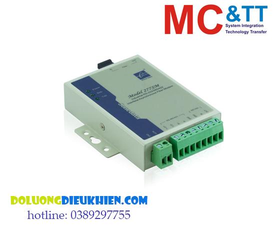 MODEL277: Bộ chuyển đổi quang điện 1 cổng RS-232/485/422 sang Quang 3onedata