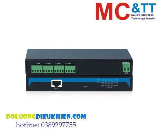 NP304T-4DI(RS-485): Bộ chuyển đổi 4 cổng RS-422/485 sang Ethernet 3onedata